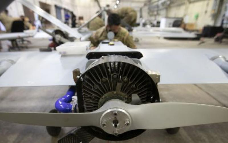 The Army Research Laboratory has contracts with 12 universities to improve all aspects of unmanned aerial vehicle engines as well as develop fuel possibilities and increase efficiencies.  U.S. Army