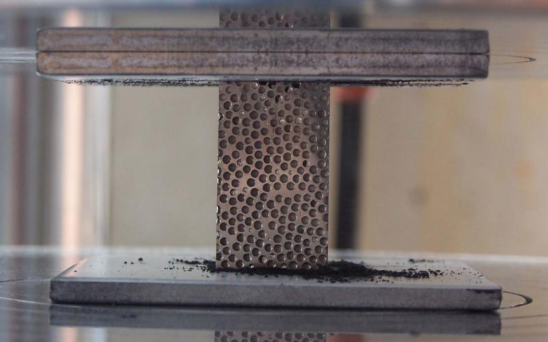 North Carolina State University researchers have tweaked the formula for a composite metal foam so that it protects against radiation. The team now is composing a commercialization strategy to bring the material to market.