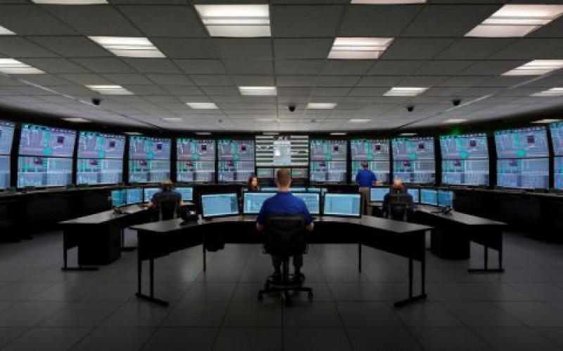 The mini reactor run from this control room at NuScale Power's small modular reactor design facility in Oregon is only a simulation. But at the end of August, the company was the first to get NRC approval for a mini reactor.  Photo courtesy of NuScale