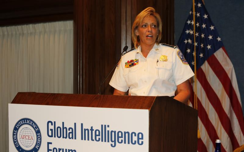 Cathy Lanier, chief of the Washington D.C. Metropolitan Police Department, describes how cyber technologies have changed the nature of the police force.