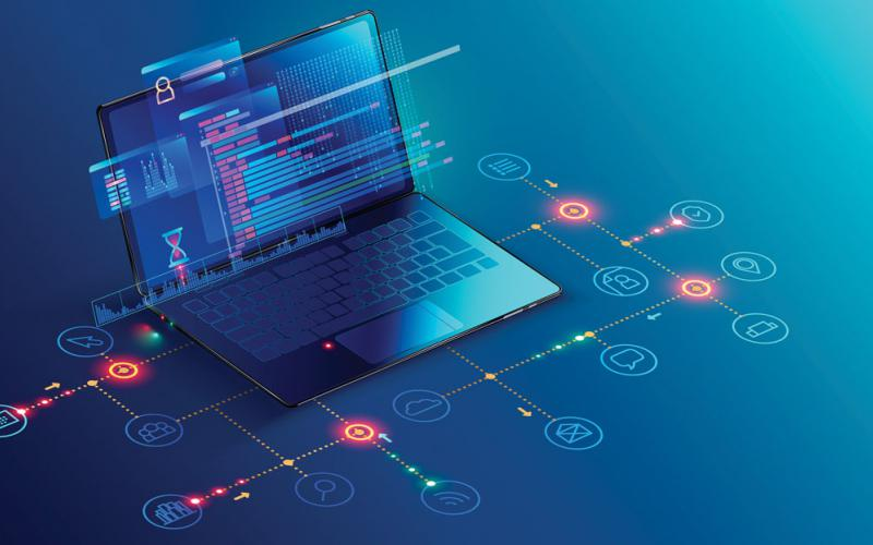 Known as a software bill of materials, a list of software components, information about those components and their relationship to the supply chain, are key elements in building supply chain transparency. Credit: Shutterstock/Andrey Suslov