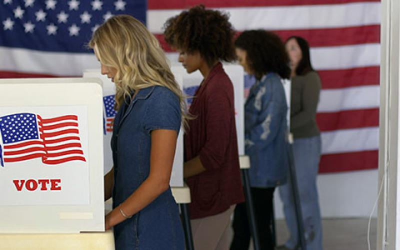 Cybersecurity officials reporter few cyber attack interruptions on Election Day. Credit: Shutterstock/vesperstock