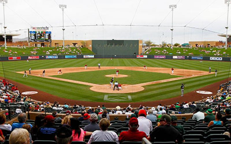 As part of its cybersecurity and critical infrastructure protection role, the U.S. Department of Homeland Security's Cybersecurity and Infrastructure Security Agency, or CISA, recently conducted a virtual exercise with Major League Baseball's Cactus League. Credit: Shutterstock/Debby Wong