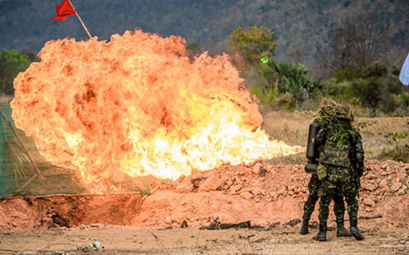 The Air Force's new initiative, Operation Flamethrower, is meant to aggressively get rid of legacy policies, processes and equipment that are not effective. Credit: Shutterstock/Mack Pansuwan