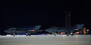 Air Force intelligence leader warns U.S. industry of growing risk from China's goal of intellectual property theft to undercut U.S. national security. Pictured, a F-35A Lighting II waits to taxi on the runway at Hill Air Force Base, Utah on May 20. Credit: U.S. Air Force photo by R. Nial Bradshaw.