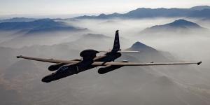 The U-2 Dragon Lady is a high-altitude reconnaissance aircraft flown by the U.S. Air Force. Photo by Lockheed Martin