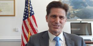 Dana Deasy, who became the U.S. Defense Department's chief information officer nearly 100 days ago, has been charged with creating the Joint Artificial Intelligence Center.