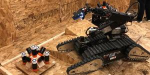 The RoboCup competitions are an opportunity for the Department of Homeland Security Science and Technology Directorate to work with other government agencies to bring emerging technologies to fruition faster. Courtesy of DHS S&T.