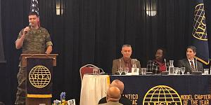 The Marine Corps is looking for advanced information technology solutions when it comes to data management, cloud, artificial intelligence and machine learning, Col. Stinson told the industry at the recent AFCEA International Potomac Quantico Chapter event.