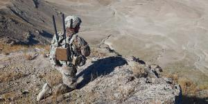 The commercial sector continues to implement new electronic warfare (EW) technology, pushing towards multifunction, multi-domain applications. Sierra Nevada's mobile land-based system, called Modi, defends against unmanned vehicle threats as well as traditional EW threats. Credit: Sierra Nevada Corp.