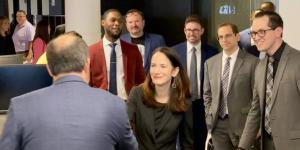 The National Geospatial-Intelligence Agency's new Moonshot Labs facility is a key component in growing greater cooperation between the private sector and government, and leveraging the competitive advantages that combination will bring, according to Director of National Intelligence (DNI) Avril Haines, who was on-hand for the facility's July 23 opening.