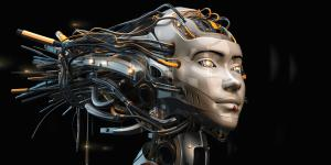 While human cyborgs may still be the stuff of science fiction, the science may be a little closer to reality following breakthroughs in materials used for neural links and other implants that offer a wide array of benefits, including potential medical advances. Credit: Ociacia/Shutterstock