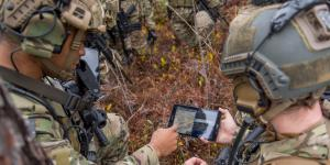 The Tactical Assault Kit (TAK) is a map-based software application that enables coordination among thousands of users with features such as a position data, chat, mission planning and shared overlays. Army researchers say it is being integrated with unmanned vehicles, virtual reality, wearable computers and heads up displays. Credit: U.S. Army CCDC C5ISR Center