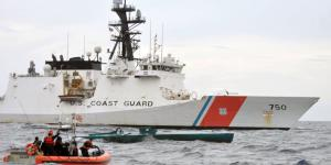 Security and artificial intelligence enabled by cloud computing and DevSecOps are top capabilities needed for integrated networking for the U.S. naval forces, including the Navy, Marine Corps and Coast Guard. Credit: U.S. Coast Guard photo