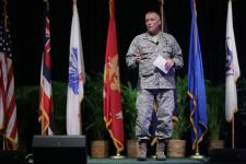 Lt. Gen. James McLaughlin, USAF, deputy commander, U.S. Cyber Command, describes some of the solutions being pursued to protect networks against cyber attack.