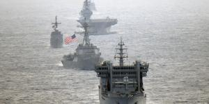 Ships of the U.S. Navy, the Indian Navy, the Japanese Maritime Self-Defense Force and the Republic of Philippine Navy transit through international waters in the South China Sea. Nations increasingly are working together in the face of Chinese aggression in the region. Credit: Japanese Maritime Self-Defense Force