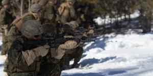 U.S. Marines with 3rd Battalion, 6th Marine Regiment, 2nd Marine Division conduct live fire range training in cold weather conditions at the Marine Corps Mountain Warfare Training Center, in Bridgeport, California, in preparation for their deployment to Norway's high north above the Arctic circle. Credit: USMC photo by Lance Cpl. Jacqueline Parsons