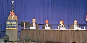 Panelists at MILCOM discuss contracting vehicles for the Defense Department.
