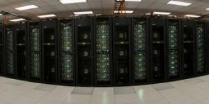 The Stampede supercomputer at the Texas Advanced Computing Center at the University of Texas in Austin is funded by the NSF and specializes in high performance research and development and data analysis. Credit: Texas Advanced Computing Center