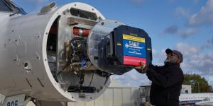 In developing the active electronically scanned array AN/APG-83 Scalable Agile Beam Radar (SABR) software for the U.S. Air Force's F-16 Viper fighter aircraft, Northrop Grumman had to balance a new way of interacting with and delivering to its customer. Credit: Northrop Grumman
