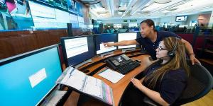 Response personnel at 911 call centers nationwide will benefit from research to improve the interoperability and compatibility of Next-Generation 911 systems. Credit: Photo by U.S. Department of Commerce
