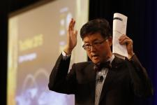 Gary Wang, deputy chief information officer/G-6 in the U.S. Army, says the U.S. government needs to identify the next generation of cyberwarriors when you are children. Photo by Mike Carpenter