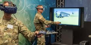 Using virtual reality, soldiers from Fort Sill, Oklahoma, get a look at components of the Army's new prototype Long Range Hypersonic Weapon and a chance to influence how the system is designed. In the future, units may use 3D printers to build their own virtual reality headsets.  U.S. Army