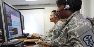 Soldiers with the U.S. Army Cyber Command take part in network defense training. The Army has reclassified its military occupational specialty as 17C for cyber operations specialists, but more remains to be done to build an effective cyber corps for the service.