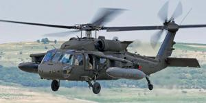 The damage-sensing network is integrated into a conceptual composite UH-60M Black Hawk helicopter.