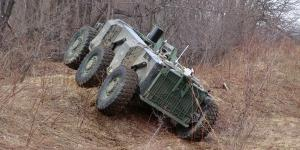 Carnegie Mellon's Crusher vehicle is capable of operating autonomously in a wide range of complex, off-road terrains. Autonomous ground vehicles face more challenges than air and naval surface vehicles, but the technology is advancing rapidly.