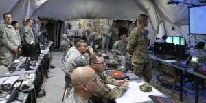The U.S. Army is updating mission command network software and hardware, condensing more than a dozen versions to one standard baseline. (U.S. Army photo by Bridget Lynch, PEO C3T Public Affairs)