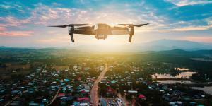 To protect the nation, the Department of Homeland Security (DHS) Science and Technology Directorate (S&T) is pursuing multiple drone intrusion detection research and development efforts. Photo Credit: Shutterstock/Yupa Watchanakit.