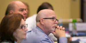 Attending conference sessions like this one from the 2016 DCOS can help you earn certifications. Photo by Michael Carpenter