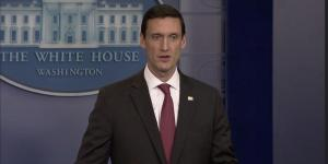 White House homeland security adviser, Thomas Bossert, announces details of the White House's long-awaited cybersecurity executive order, which President Donald Trump signed May 11.