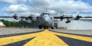 When armed with a high-energy weapon, the versatile C-130 could be a formidable threat.
