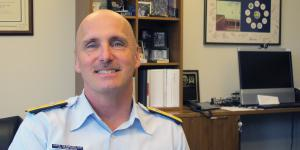 "When pursuing information technology solutions, the Coast Guard has to be ""risk aware"" in order to have the tools needed to support its unique set of military, law enforcement, humanitarian, regulatory and diplomatic responsibilities, says Rear Adm. David Dermanelian, USCG, assistant commandant for C4IT (CG-6); and commander, Coast Guard Cyber Command."