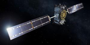 An artist's concept shows the full operational capability Galileo satellite on station above the Earth. With the constellation forming the backbone of Europe's positioning, navigation and timing assets in space, Europe has geared up to address the growing threat picture confronting its space systems.  ESA