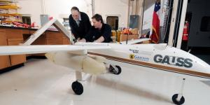 The GTRI Airborne Unmanned Sensor System (GAUSS) is used to evaluate sensing devices in airborne testing.