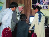 A computer lab in Jalalabad is one piece of a broader effort to educate train a technology-savvy workforce.