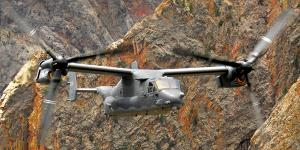 The U.S. Navy program executive office that supports the V-22 and myriad other aircraft is learning to cope with the cyber vulnerabilities of its networked platforms.