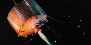 NASA's development of new communications satellites began in 1960 based on the theory that placing them in a geosynchronous orbit would keep the satellites in the same area of the sky relative to the rotating Earth. Just 17 months later, NASA launched Syncom I, but the satellite stopped sending signals a few seconds before it reached its final orbit and was soon replaced by Syncom II.  NASA