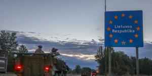 2nd Cavalry Regiment Strykers conduct a road march over more than 2,100 miles from Germany to Lithuania. The integrated tactical network helps mission command on the go.  Lt. Col. Christopher L'Heureux, USA