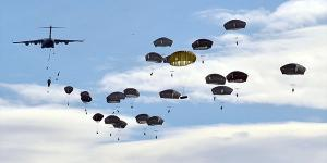 The U.S. Army's 82nd Airborne Division participates in a NATO exercise in Spain. The alliance is adding cyber warfare into its traditional defense operations.