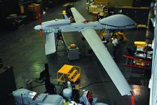 U.S. Army systems engineers conduct hardware in the loop testing on a Gray Eagle unmanned aircraft. The Army is partnering with universities through Memorandums of Understanding to give students the knowledge and experience necessary to contribute to the unmanned aircraft systems (UAS) field in the future.