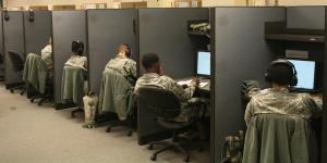 Signaleers at Fort Gordon, Georgia, train to use satellite communications systems. With the entire force embracing cyberspace as a warfighting domain, these signaleers ultimately must impart their understanding of cyberspace and its technological capabilities to other soldiers in operational units.