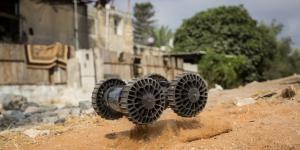 Roboteam has created a lightweight robot for troops and first responders. The Individual Robotic Intelligence System is a rugged, nearly 4-pound platform that can be thrown into any space to provide real-time intelligence, surveillance and reconnaissance (ISR) information.