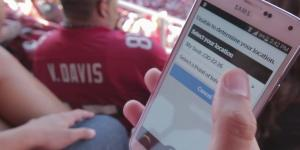 San Francisco 49ers officials tapped interactive technology—particularly mobile technology—to help improve fan experience. Mobile apps monitor ticket scans, parking availability, food and beverage sales and wait times, mobile app usage and more.