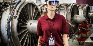 "Employing so-called computerized vision, DAQRI Smart Glasses not only ""see"" an environment and provide data to a user but also pull in information. Photo credit: DAQRI"