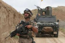 A Spanish soldier leads a patrol as part of the International Security Assistance Force (ISAF) in Afghanistan. Lessons learned in that operation are guiding the NATO Headquarters Consultation, Command and Control (C3) Staff as it strives to develop an enterprise network environment for the alliance. (Photo: Spanish Ministry of Defense)