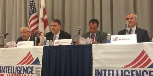Panelists discuss the new face of terrorism during the 3rd annual INSS in Washington, D.C. this week.